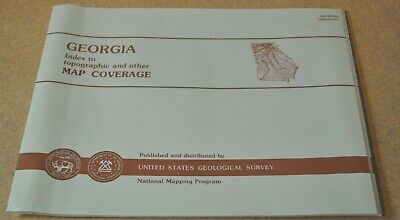 USGS State Index to Topographic and Other Map Coverage *GEORGIA 1994