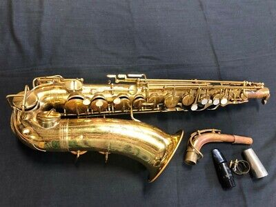 "Vintage ""The Indiana"" by Martin Alto Saxophone"