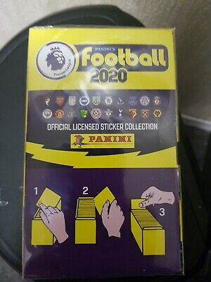 Panini's Football 2020 Premier League Stickers , 100 Packs Full Box still sealed