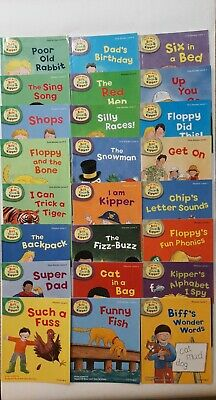 Oxford Reading Tree Read with Biff Chip and Kipper Level 1-3 Collection 24 Books