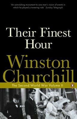 The Second World War, Volume 2: Their Finest Hour (Paperback), Ch...