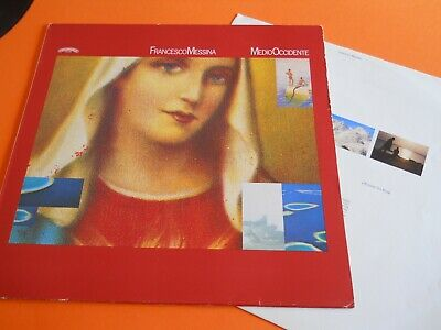 Lp Italian Prog Francesco Messina - Medio Occidente - Originale Inner