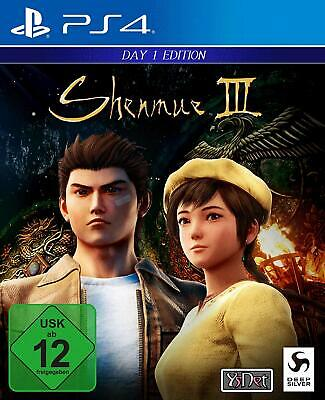 Shenmue III Day One Edition PS4 USK 12
