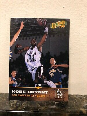 1996 Score Board All Sports Ppf Kobe   Bryant Lower Merion Rookie Card #11 Nm-Mt