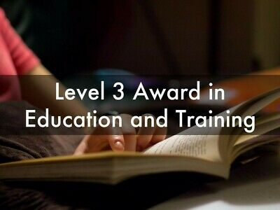 Level 3 Award In Education And Training Qcf Assignments Pttls Teaching Training