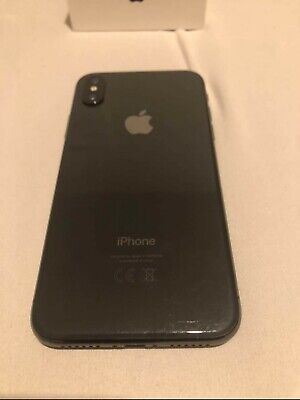 Apple iPhone X - 256GB - Space Grau