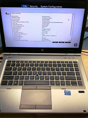 "HP EliteBook 8460p_14.0"" Screen_Intel Core i5-2540M@2.60GHz_8GB RAM_650GB HDD"