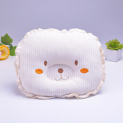 Baby Cot Pillow Newborn Infant Anti Flat Head Cushion Crib Bed Neck-Support