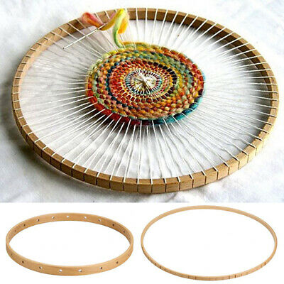 Hanging Wall Tapestry Wooden Round Loom Machine Knitting Tool Decoration