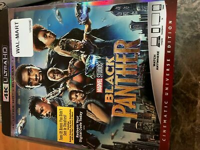 Marvel Black Panther 4K - Blu Ray Size - Slip Cover Only