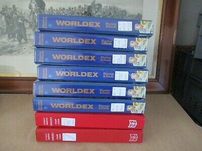 World Stamps 'B' And  'C'  Countries  Collection In 8 Well-Filled Albums 1000S