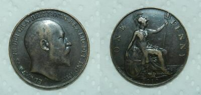 Great Britain Penny 1910 - Edward Vii