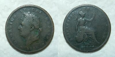 Great Britain : George Iv Penny 1826