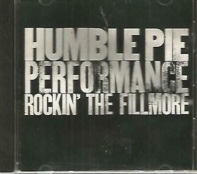 HUMBLE PIE - Rockin' the Fillmore - CD - Very Good Plus Plus -  OVER 1 Hour LIVE