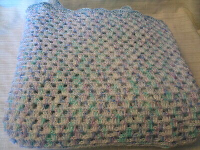 Beautiful New Handmade Crochet Baby Blanket/Afghan