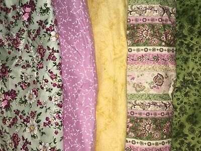5 YARDS  Quilt Fabric Kit - Hoffman & Others