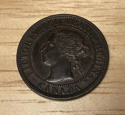 1900 Canada Large Cent, Nice Extra Fine!