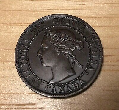 1893 Canada Large Cent, Nice  Almost Uncirculated!