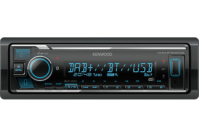 Kenwood KMM-BT505DAB MP3-Autoradio DAB+ Bluetooth USB iPod AUX-IN Radio CAR TUNE