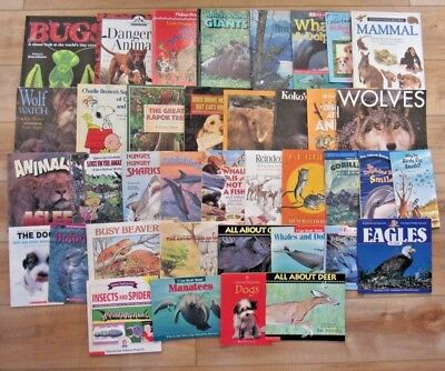 ANIMALS Nature, Science, Non-Fiction Picture Books,Early Readers LOT 38 Teachers