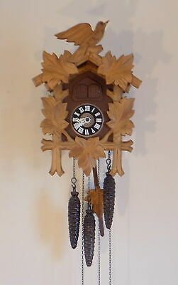 Vintage 3 Weight Black Forest 'Regula' Musical Cuckoo Clock - Fully Working