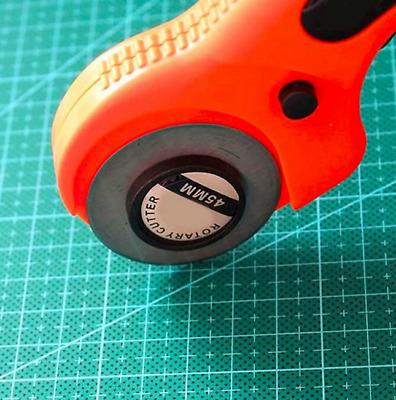 Rotary Fabric Cutter 45mm Sewing Trimmer Quilting Leather Cut Craft Cutting Tool