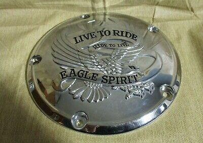 Harley twin cam eagle live to ride timer cover dyna softail touring 32689-99A