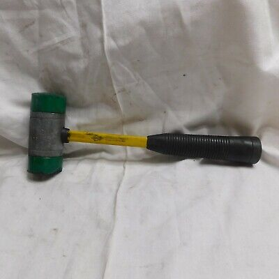 Nupla Rubber Tip Hammer with Fibre Glass Handle