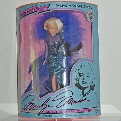 Vintage Marilyn Monroe Collectors Series Spectacular Showgirl Marilyn