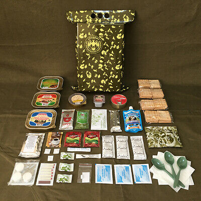 Russian Army Food Military Ration Daily Pack MRE Russian Officer Individual Food
