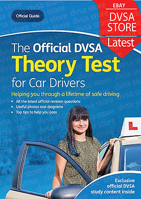 2020 Official DVSA Driving Theory Test Book for Car Drivers