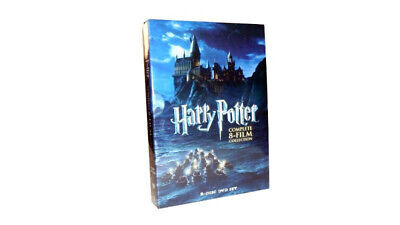 Harry Potter: The Complete Series 8 Films Collection(DVD,2011,8-Disc Set) New