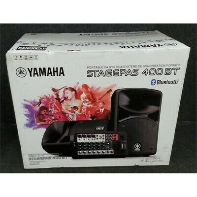 Quantity of 1 = 1 Pair! YAMAHA Stagepas 400i 400BT Padded Black Covers 2