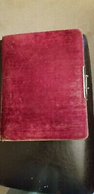 Antique Photo Album from late 1800's with photos