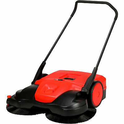 Bissell Big Green 38in Deluxe Battery-Powered Sweeper 13.5-Gal Cap 12V