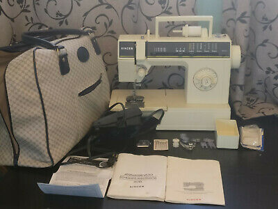 Singer 6215C Sewing Machine w/ Power Cord, Pedal bag attachments instructions