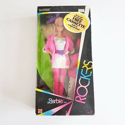 Vintage 1985 Barbie and the Rockers Barbie Doll Collectible New In Box