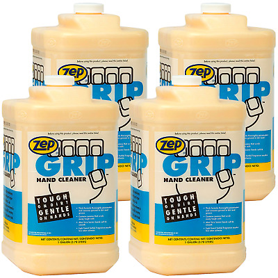 Zep Grip Hand Cleaner 308524 1 Gal (Case of 4) Contains Aloe Vera