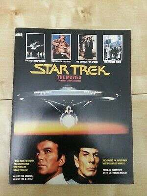 Star Trek - The Movies Book, The first complete book. 1987