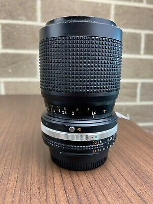 Nikon Ai-s Zoom-Nikkor 35-105mm f/3.5-4.5 MF Lens F Mount - Excellent Condition