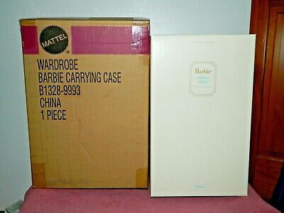 2002 Limited Edition Silkstone Barbie Wardrobe Carrying Case Box Only w Shipper