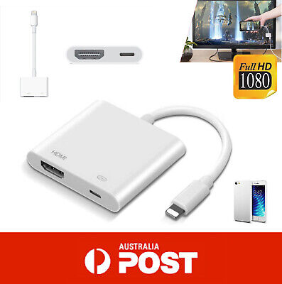 LIGHTNING Digital AV Adapter Lightning to HDMI Cable for Apple iPad