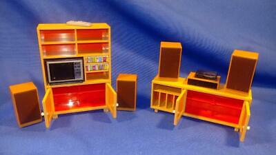 Vintage Tomy Dollhouse Furniture Dishwasher /& Sinks w// 1 Rack #67