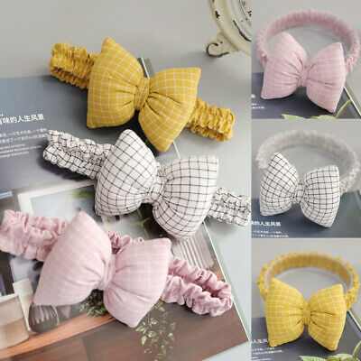 Cute Baby Girls Kids Bow Toddler Hairband Headband Stretch Turban Head Wrap