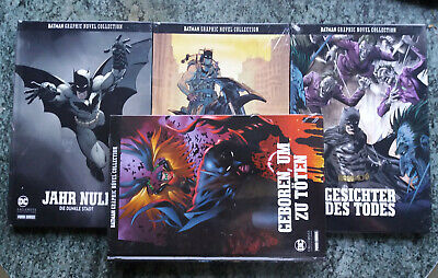DC Batman Graphic Novel Collection Band 1, 2, 3, 5 - OVP in Folie
