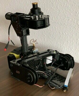 GHT 3-axis gimbal for BMPCC and compact camera + controller and accesories