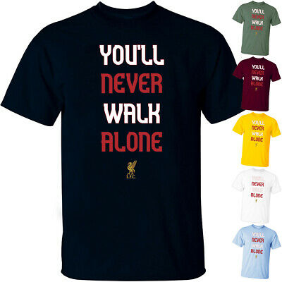 Liverpool You will never walk alone V1 The Reds Team T Shirt All sizes S-5XL