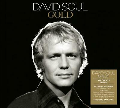 DAVID SOUL GOLD 3 CD SET (44 TRACK COLLECTION) (Released March 6th 2020)