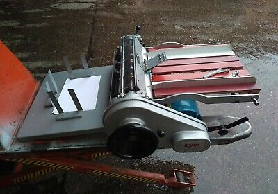 """Rollem Champion 990 Numbering perf and creasing machine. 24"""""""