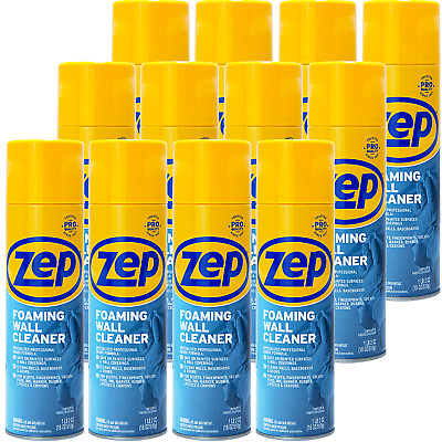 Zep Foaming Wall Cleaner 18 Oz ZUFWC18 (case of 12) Thick Professional Formula